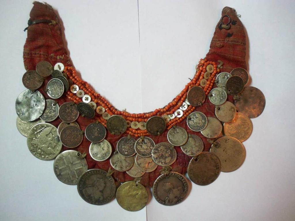 Монисто из монет своими руками