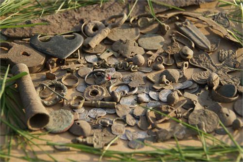 Находки за праздники 9-11 мая 2009 г металлоискатель E-Trac. Рязанская область.