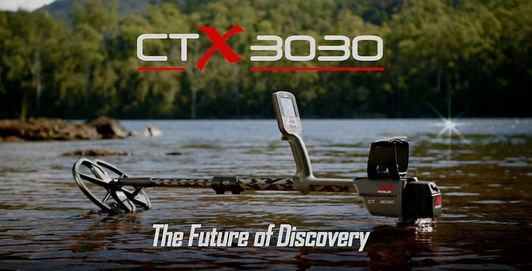 Металлоискатель СТХ 3030 может работать как на суще, так и под водой.