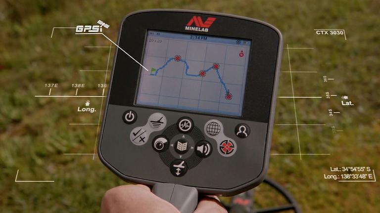 Встроенный GPS навигатор с прорисовкой маршрута и с возможностью указания мест нахождения целей.