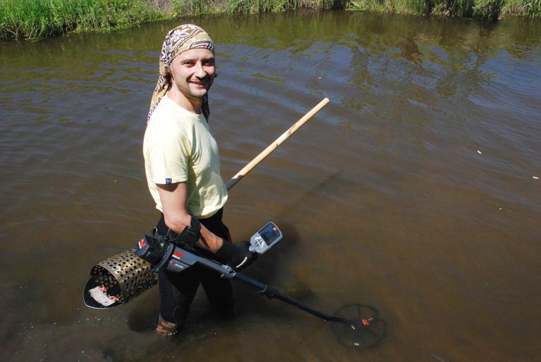 Находки в реке Куда у села Урик. Скуб из лопаты и СТХ3030