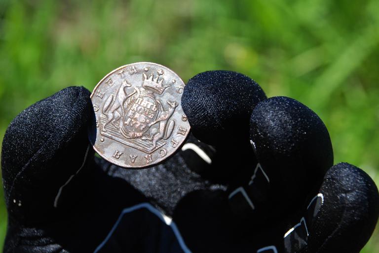 Монета из реки
