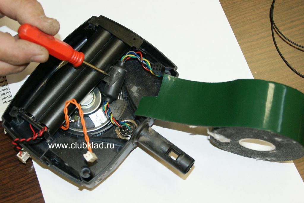 Ремонт X-Terra провода.