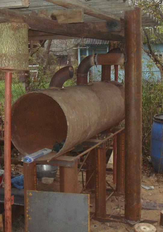 Изготовление реактора для реставрации в углеродной среде железных артифактор фото 2