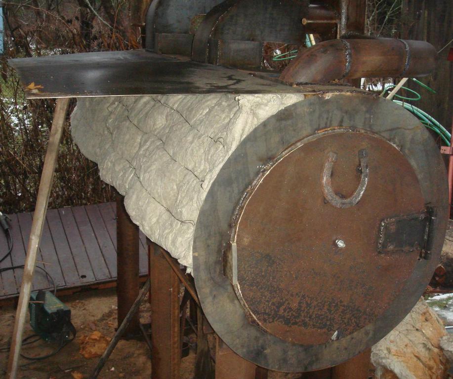 Изоляция печи Изготовление реактора для реставрации в углеродной среде железных артифактор фото 7