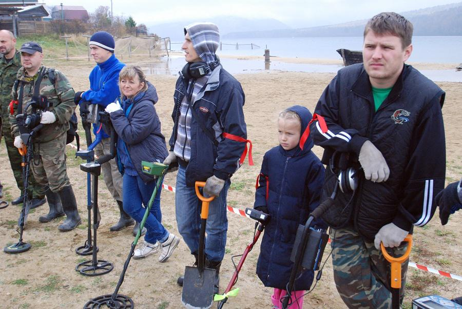 Кладоискатели ждут решения и защиты от Николая Левичева
