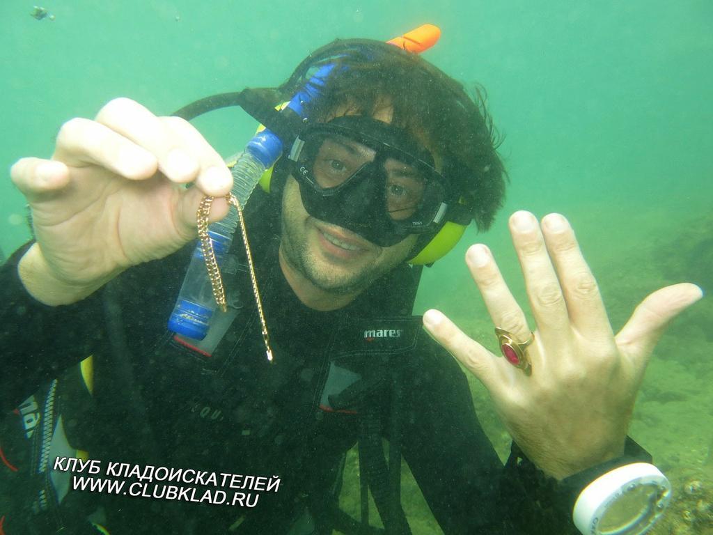 уходим под воду в нейтральной воде слушать