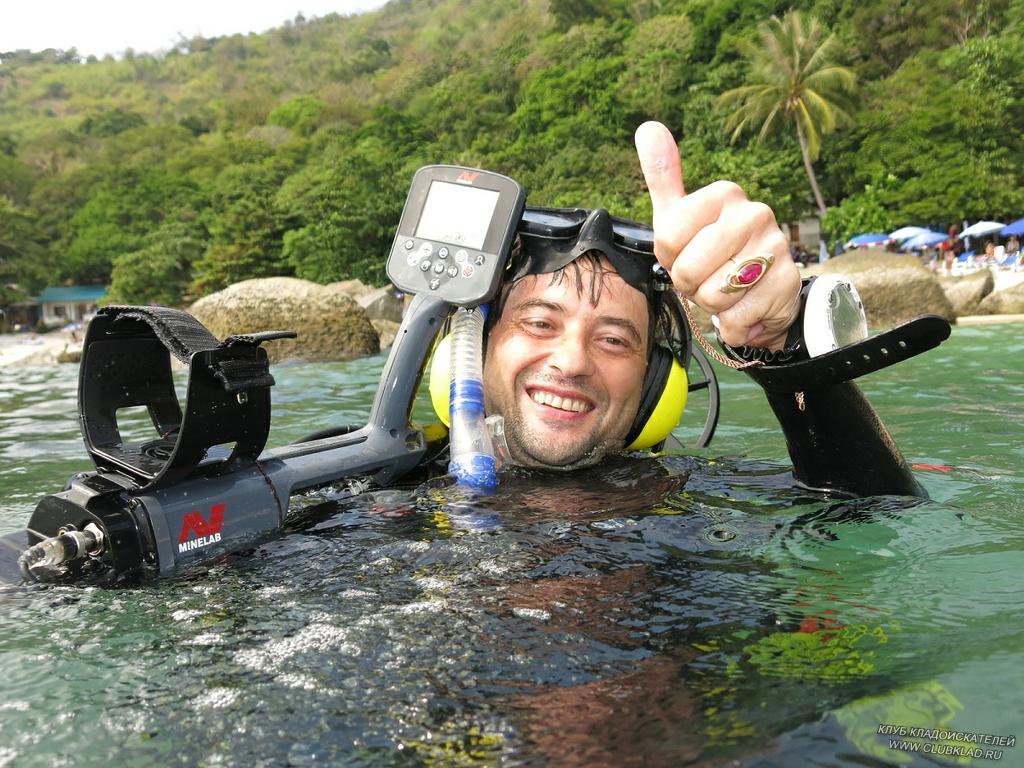 Уходим под воду.