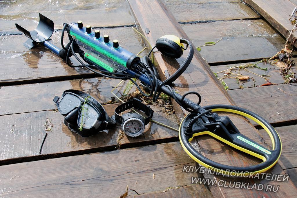 Металлоискатель для подводного поиска