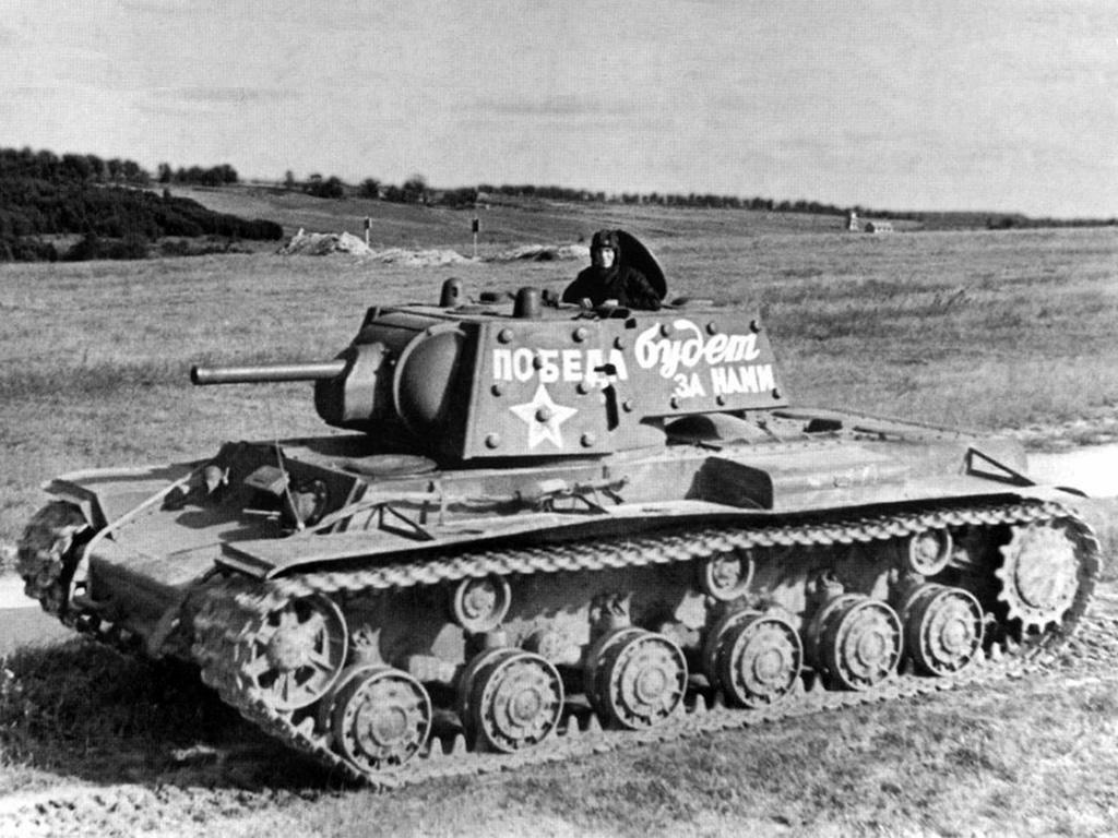 танк КВ-1 фото 2