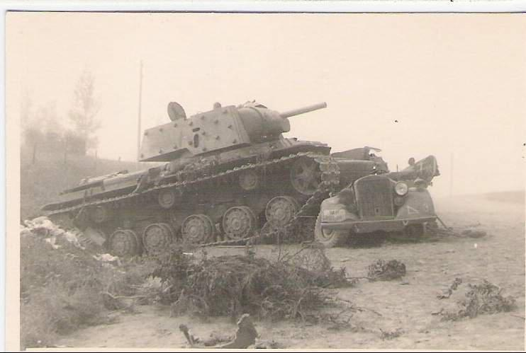 танк КВ-1 фото 3