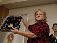 Археологи представили клад золота, найденный возле Храмовой горы